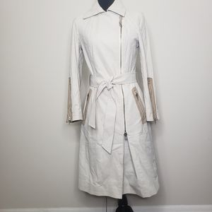 Mackage coated cotton trench coat